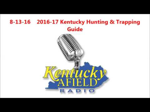 8-13-16 Kentucky Hunting & Trapping Guide