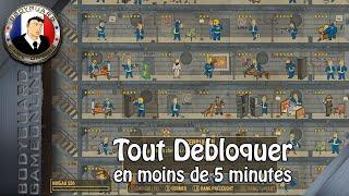Fallout 4 Tout Débloquer Porter Des objets à l'infini, Capsule, Avoir tout le tableau compétence ..