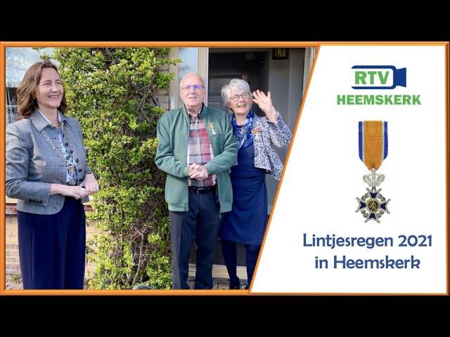 Lintjesregen 2021 Heemskerk