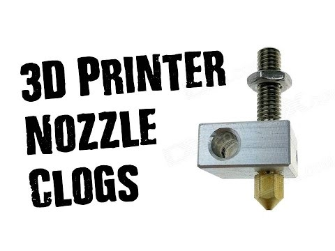 3D Printer Nozzle Clogs, Effects & How To Fix Them