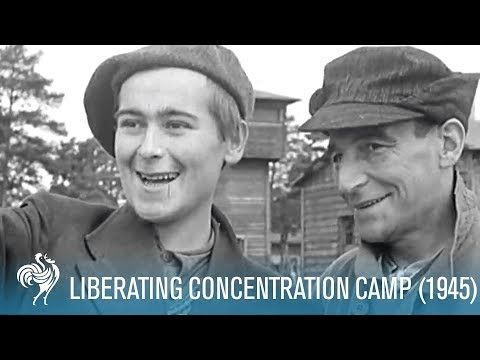 Nazi Concentration Camp Belsen Liberated (1945) | War Archives