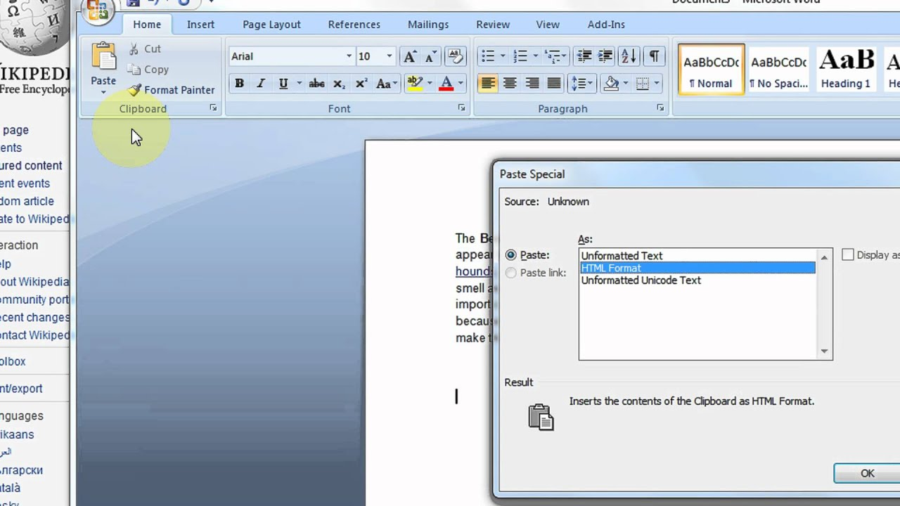 How To Remove Hyperlinks in Microsoft Word  2007 & 2010 Step By Step Tutorial