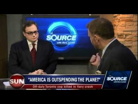 Thought Crime! Ezra Levant interviews Mark Steyn on SunTV's The Source
