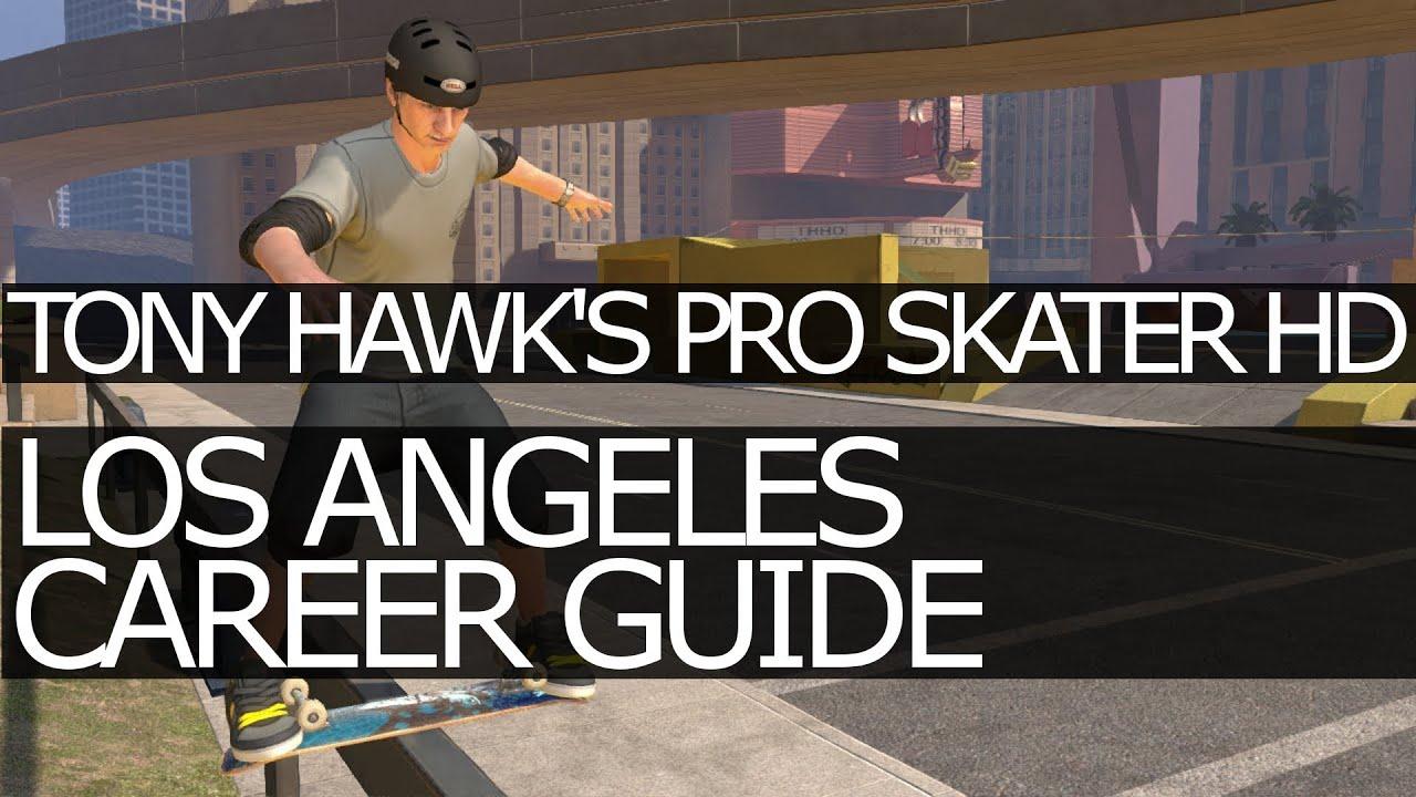 tony hawk s pro skater hd los angeles career goals objectives tony hawk s pro skater hd los angeles career goals objectives guide cash locations