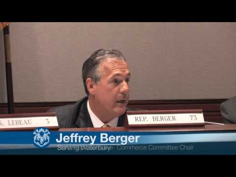 Rep. Jeffrey Berger Supports Keeping Pratt & Whitney Plants in CT