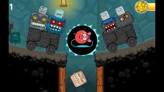 Red Ball 4: Electric ball Gameplay Walkthrough - All Bosses (iOS, Android)