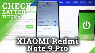 How to Enable Battery Percentage in XIAOMI Redmi Note 9 Pro – Battery Details