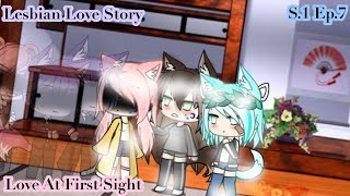 "Lesbian Love Story | ""Love At First Sight"" 