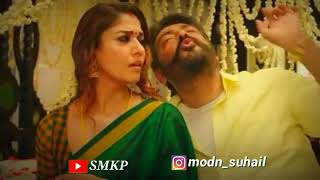 Neethane Ponjathi Nane Unn Saripathi 2019 Status | ViswAsam Movie Songs |  Cute Lovely Status | SMKP