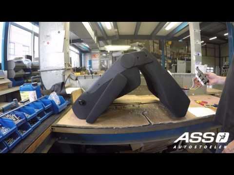 Verwonderlijk Hoe bouwt ASS Autostoelen een stoel in? - YouTube VD-18