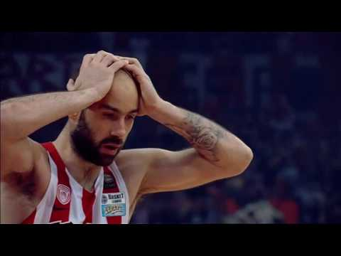 Vassilis Spanoulis 2016 Greek League MVP, Finals MVP, And Champion