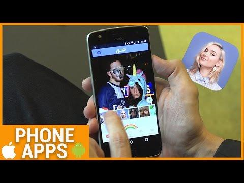 Natoo, l'application de la youtubeuse vous transforme en licorne ! (Phone Apps)