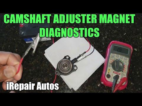 Mercedes Camshaft Adjuster Magnet Diagnostics DIY