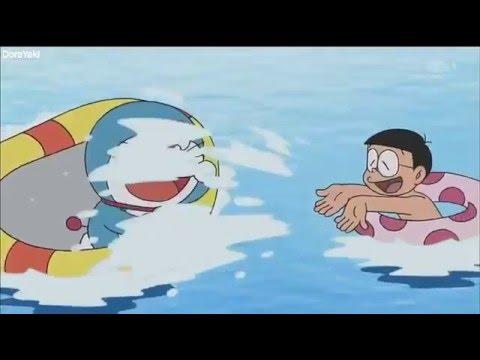 Doraemon El Gato Cosmico    Una Piscina En Las Nubes