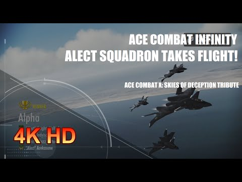 Ace Combat Infinity: Alect Squadron Takes Flight!