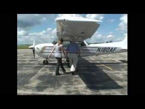 American Flyers flight school introductory flight