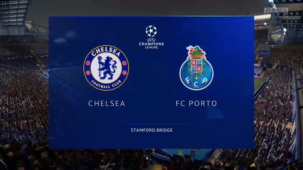 FIFA 21 CHELSEA VS FC PORTO CHAMPIONS LEAGUE PREDICTION - YouTube