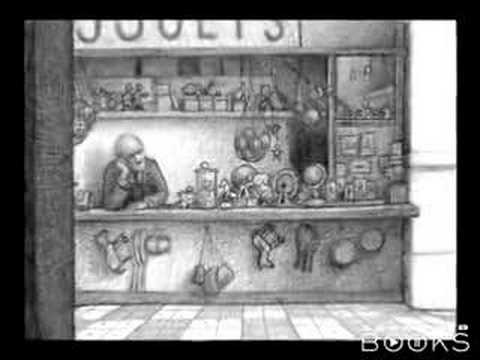 Brian Selznick - The Invention of Hugo Cabret book trailer
