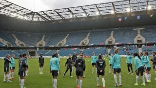 France-Brésil Féminines A : derniers réglages au Stade Océane !