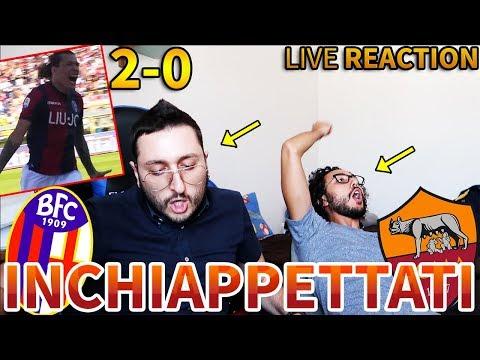 2-0 ANNATEVENE A FANC*LO - È FINITA. Bologna-Roma [LIVE REACTION]