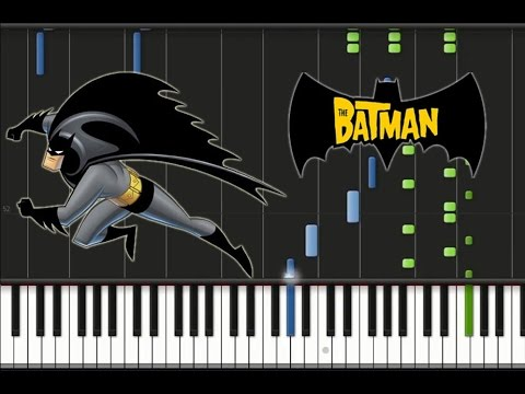 The Batman - Theme Song [Synthesia Tutorial]