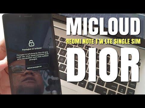 bypass-micloud-akun-mi-redmi-note-lte-dior-single-sim-clean-all