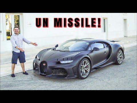 A 303KM/H con la Bugatti Chiron Super Sport 300+ da €4.2M! [ESCLUSIVO]
