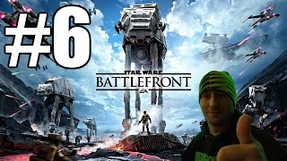 Star Wars Battlefront Beta Gameplay #6 - AT-AT Walker (PC)