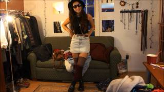 OOTW 5 : High Waisted Pants, Camo && Thigh Highs Thumbnail