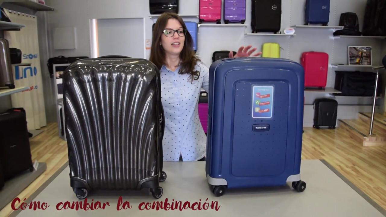 Como Cambiar La Combinacion De La Maleta Susmaletas Com Youtube
