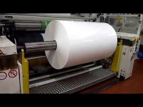 Aufwickeln von folie mit entladung durch iontis e5000 for Folie von kuchenfronten entfernen