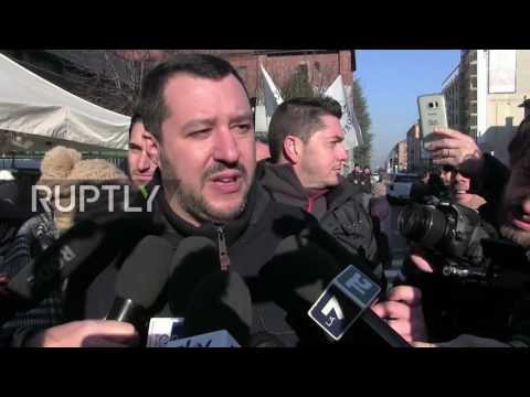 Italy: Lega Nord's Salvini petitions for early elections