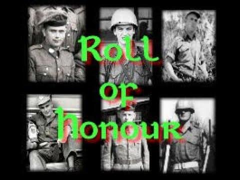 Irish Cavalry Corps - Roll of Honour