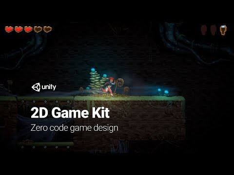 Getting Started With 2D Game Kits - Adding Moving Platforms [3/8] Live 2018/2/21