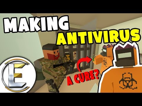 MAKING THE ANTIVIRUS - Unturned Serious Roleplay (Holding People Captive for Testing)