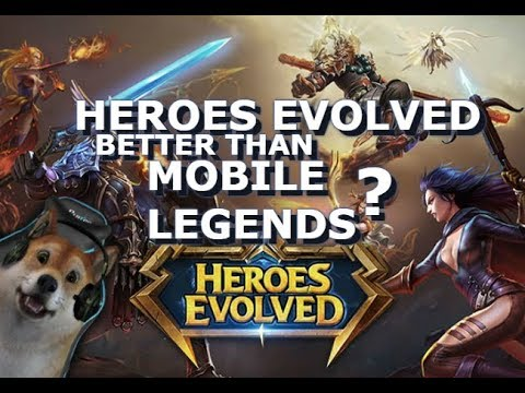 Heroes Evolved Review – Comparison to Mobile Legends