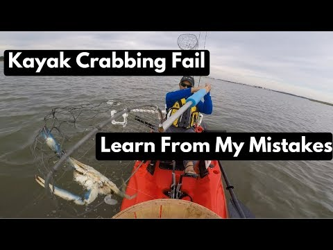 Crabbing In Maryland Fail -  Learn From My Mistakes