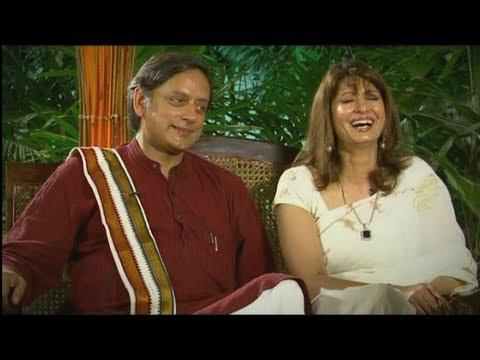 Shashi Tharoor & Sunanda Tharoor, Interview to Rahul Easwar
