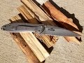 Kershaw 1660 Ken Onion Leek folding knife review - MuddyTigerOutdoors