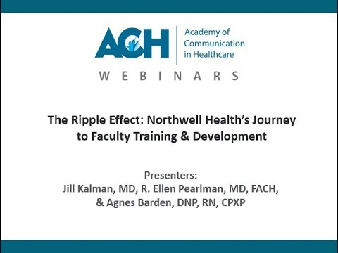 Academy of Communication in Healthcare > Resources > Webinars