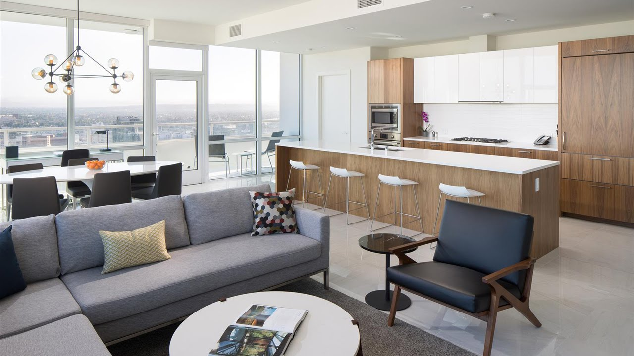 LEVEL Furnished Living Downtown Los Angeles - 3 Bedroom ...