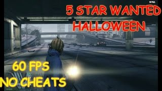 GTA 5 ONLINE - 5 STAR WANTED HIGHWAY INSANITY HALLOWEEN (no cheats) Episode 3
