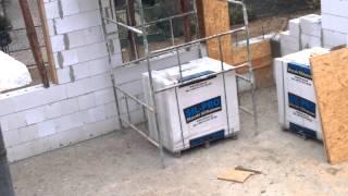 Wykonanie ścian z bloczków silikatowych SIL-PRO