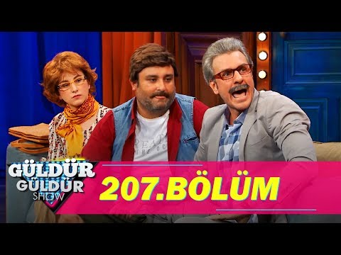 Güldür Güldür Show 207.Bölüm (Tek Parça Full HD)