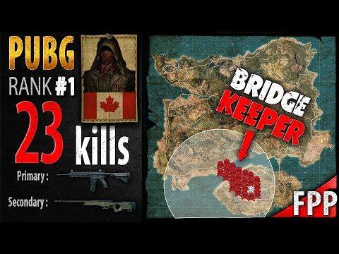 PUBG Rank 1 - Kaymind 23 kills [NA] SOLO FPP - PLAYERUNKNOWN'S BATTLEGROUNDS