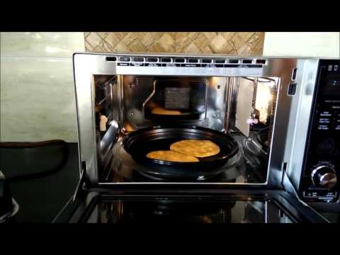 Indian Bread Basket Mode in LG Charcoal Lightwave Oven | Making Roti in Microwave by Happy Pumpkins
