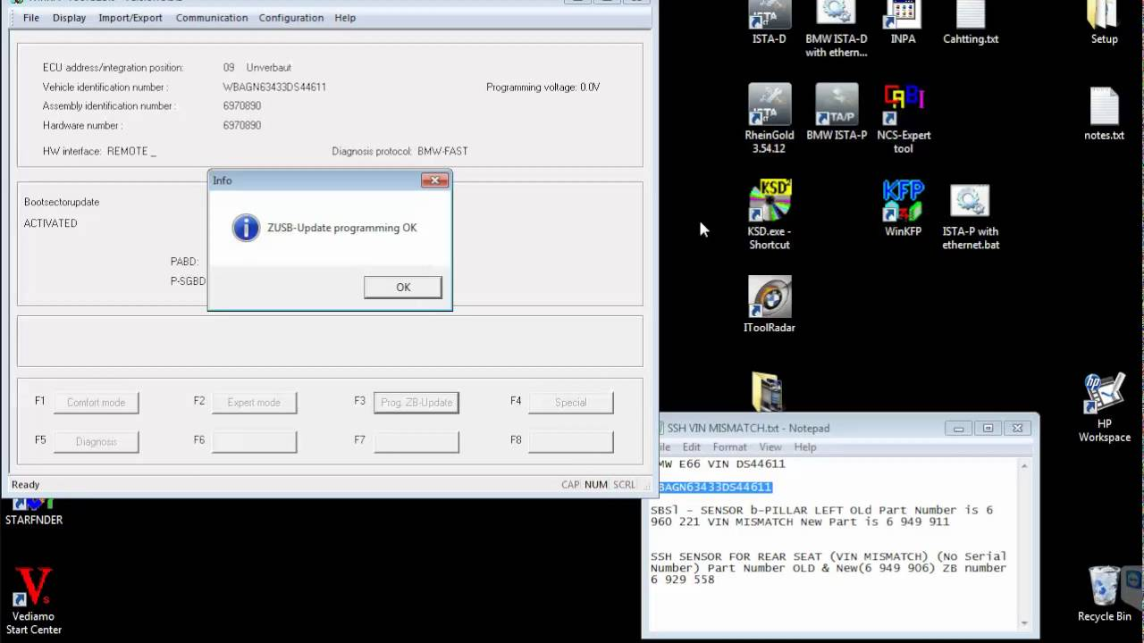 WINKFPT SBSL failed Programming of BSU Error 2016-04-08 18:58:01