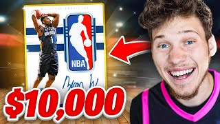 I Spent $10,000 On RARE NBA Packs! *Crazy Pull*