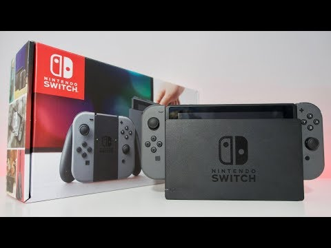 Nintendo Switch: Unboxing & Review
