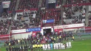 じゅんいちダビッドソンによるキックインセレモニー ヴィッセル神戸 VS ...